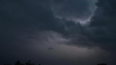 lightning night 03 Stock Video Footage