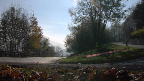 rally 03 Stock Video Footage