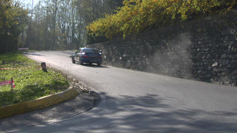 rally 07 Stock Video Footage