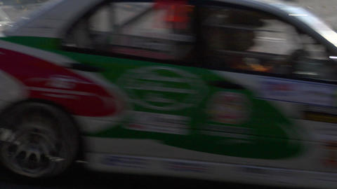 rally 09 Stock Video Footage