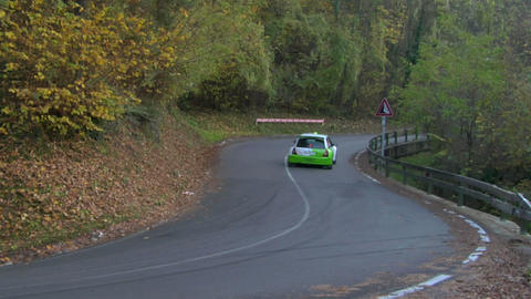 rally 12 Stock Video Footage