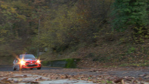 rally 14 Stock Video Footage