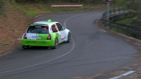 rally slow 11 Stock Video Footage