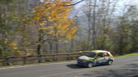 Rally Track 01 stock footage