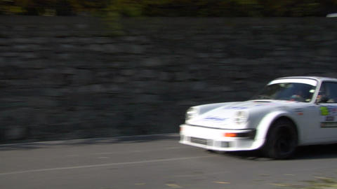 rally vintage 03 Stock Video Footage