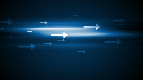 Abstract tech motion background with arrows Animation