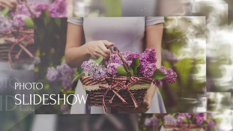 Slideshow - Photo Flow After Effects Template