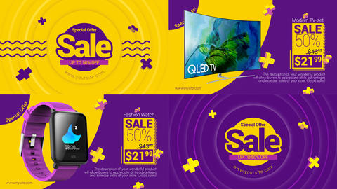 Fresh SALE After Effects Template