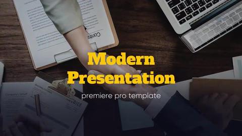Modern Presentation - Corporate Promo // Premiere Pro Premiere Pro Template