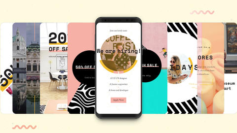 Instagram Stories: Showy Pack V1 After Effects Template