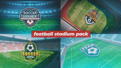 Soccer Logo Pack After Effects Template