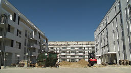 Nearly Completed Low Rise Residential Buildings Live Action