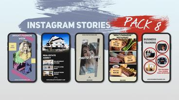 Instagram Stories Pack 8 After Effects Template