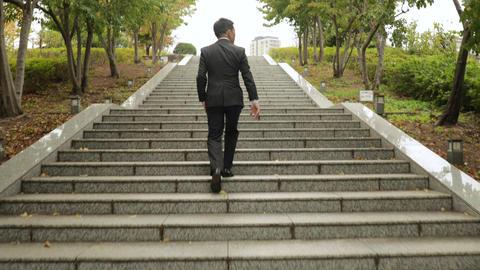 Japanese businessman in Tokyo Footage