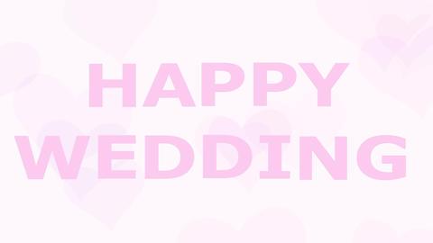 結婚式(結婚式ビデオ)のオープニングHappy... 動画素材, ムービー映像素材