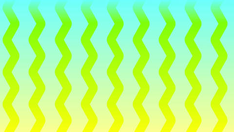 wave-blue/yellow CG動画