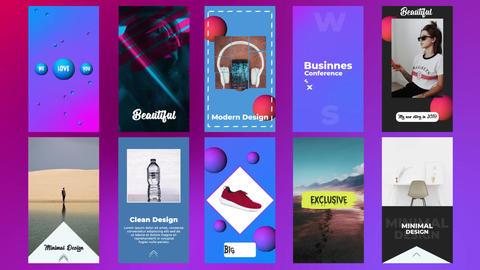 Instagram Stories Pack V5 After Effects Template