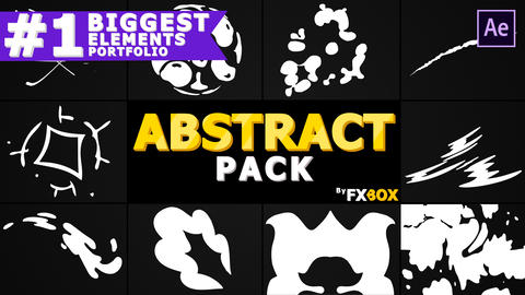 Abstract Shapes Pack After Effects Template
