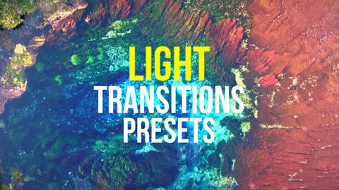 Light Transitions Presets Premiere Pro Template