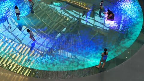 Children on Digital Light Canvas inside The Shoppes -…, Live Action