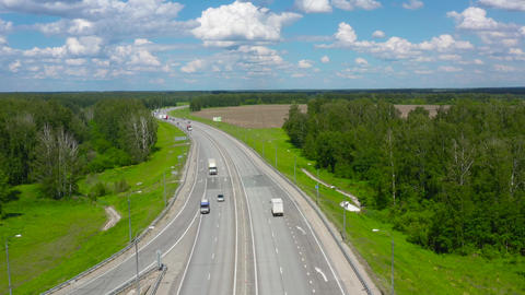 Suburban highway in Siberia 006 Live Action