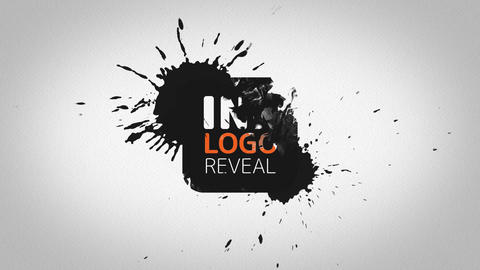 Ink Logo Reveal After Effects Template