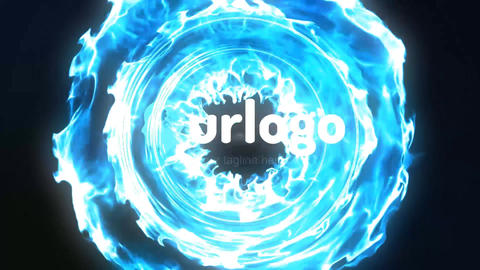 Inter Particles Logo Reveal After Effects Template