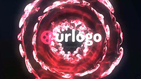 Particles Logo Reveal Studio After Effects Template