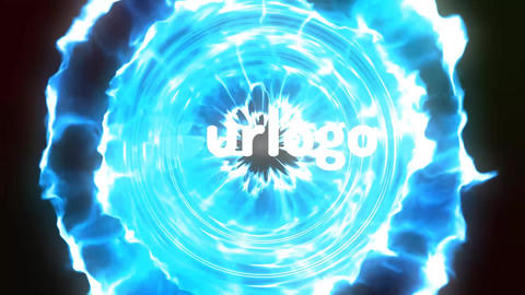 Particles Logo Reveal Vision After Effects Template