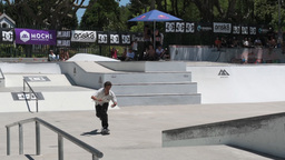 Ruben Santos during the DC Skate Challenge Footage