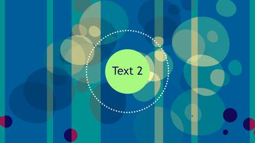 Circles And Stripes Apple Motion Template