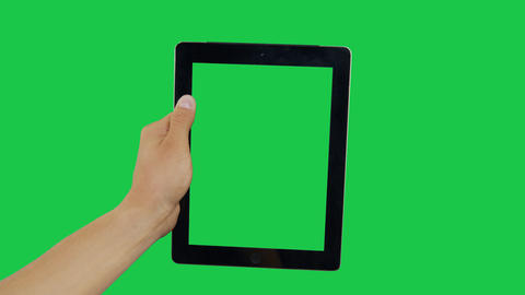 Click Digital Tablet Green Screen Archivo