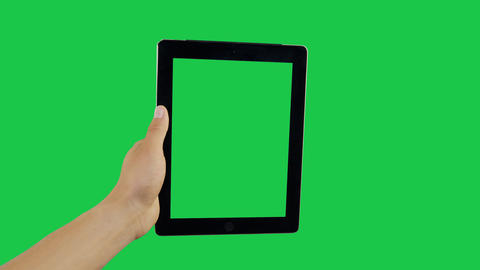 Swipe Digital Tablet Green Screen Archivo