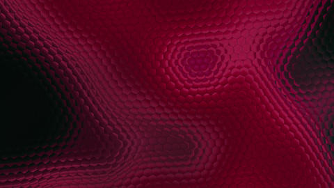 Red Color Distorsion Background Animation