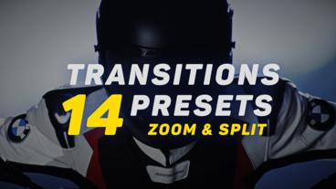 Transitions Presets v.4 Premiere Pro Effect Preset