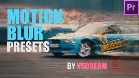 Motion Blur Presets Premiere Proテンプレート