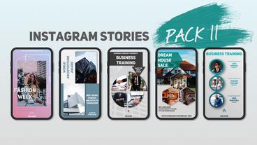 Instagram Stories Pack 11 After Effects Template