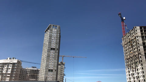 The process of building high-rise residential buildings Live Action