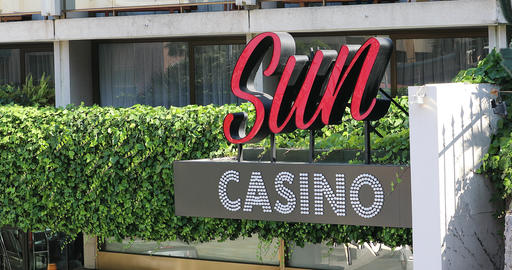 Sun Casino Monte-Carlo Monaco Footage