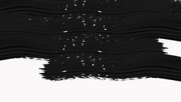 Abstract Paint Brush Transition Reveal with Alpha Channel - Transparency Animation