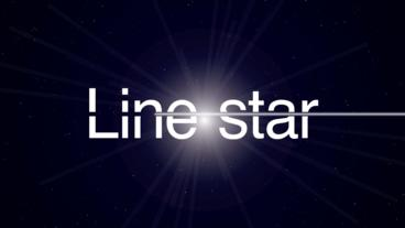 Line star After Effects Template