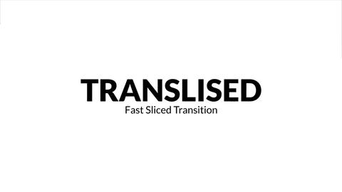 Transliced - Fast Sliced Transitions Premiere Pro Template