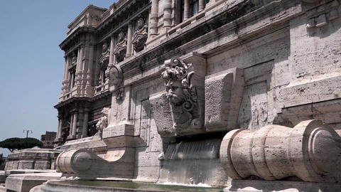 Palace of Justice in Rome Live Action