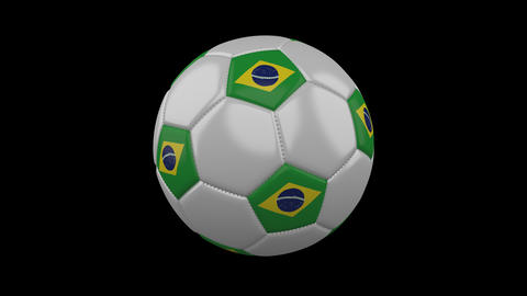 Brazil Flag And Soccer 0