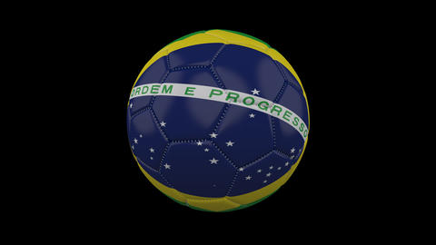 Brazil Flag And Soccer 1