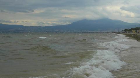 Rough Sea Waves Footage