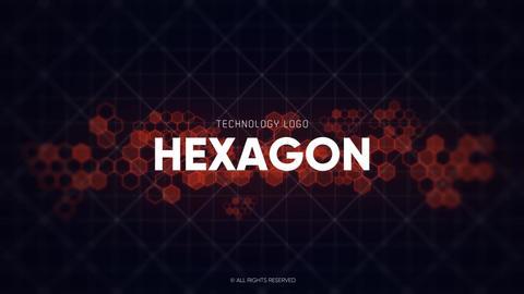 Logo - Technology Hexagon // Premiere Pro Premiere Pro Template