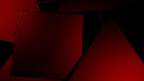 Background of Abstract Geometric Shapes Animation