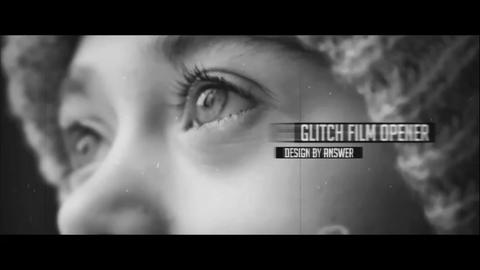 Glitch Opener II After Effects Template