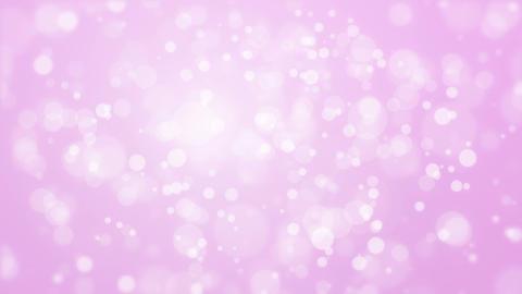 Illuminated glowing purple pink bokeh background Animation